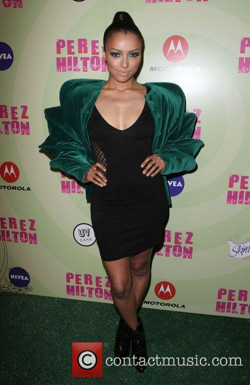 Kat Graham Perez Hilton's Mad Hatter Tea Party...