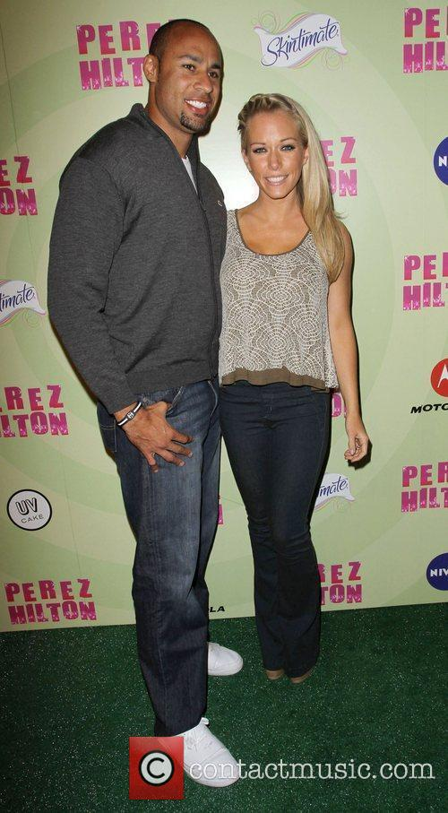 Kendra Wilkinson and husband Hank Baskett Perez Hilton's...