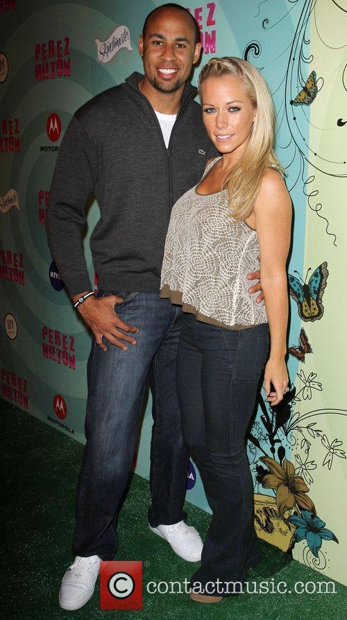 Kendra Wilkinson and Hank Baskett 1