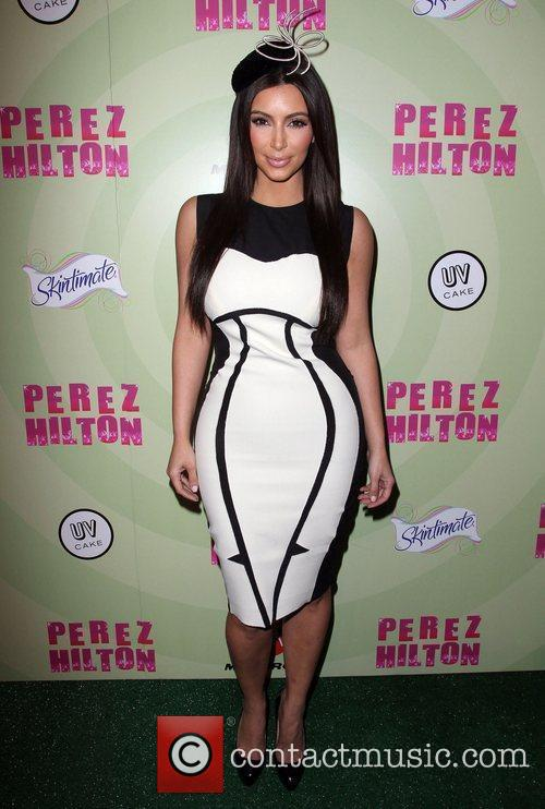Kim Kardashian Perez Hilton's Mad Hatter Tea Party...