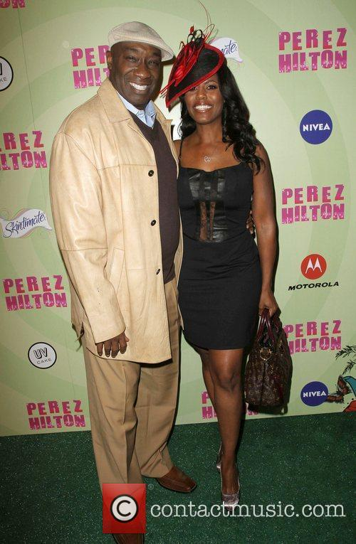Michael Clarke Duncan and Omarosa Manigault Stallworth Perez...