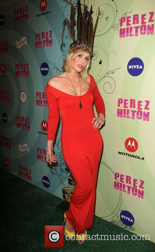 Natasha Bedingfield Perez Hilton's Mad Hatter Tea Party...