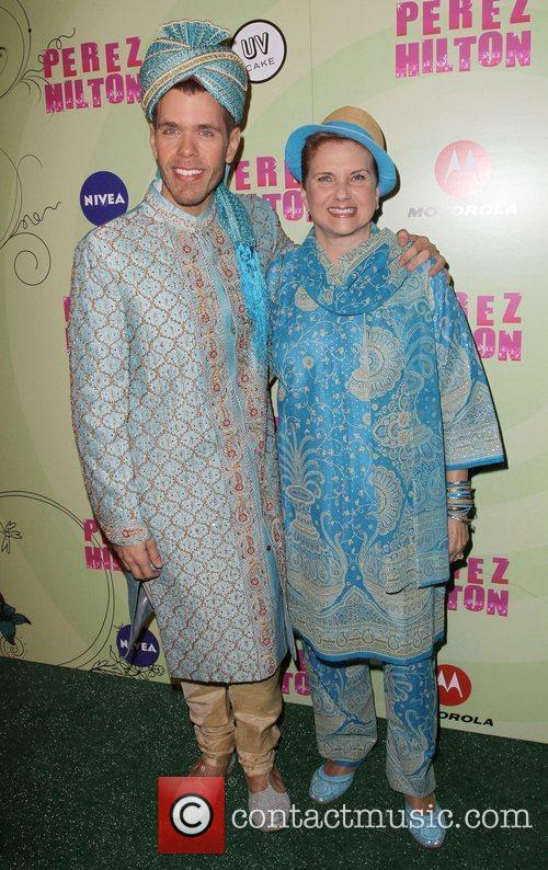 Perez Hilton and Guest Perez Hilton's Mad Hatter...