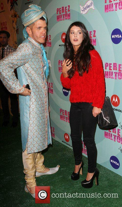 Perez Hilton and Shenae Grimes 6