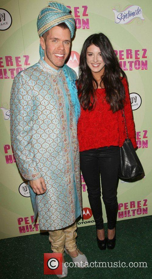 Perez Hilton and Shenae Grimes 7