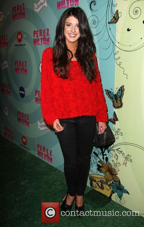 Shenae Grimes Perez Hilton's Mad Hatter Tea Party...