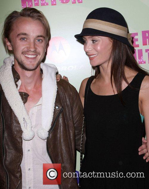 Tom Felton and Jade Gordon Perez Hilton's Mad...