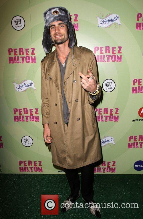 Tyson Ritter Perez Hilton's Mad Hatter Tea Party...