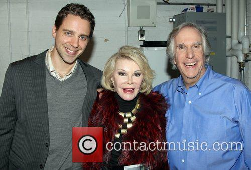 Backstage at the new Broadway comedy 'The Performers'...