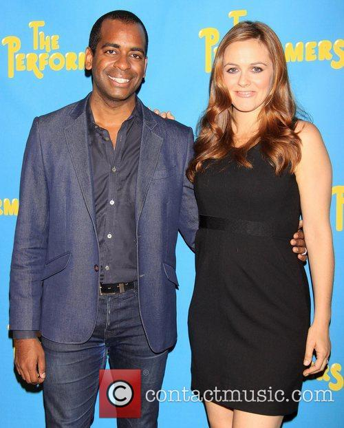 Daniel Breaker and Alicia Silverstone Meet and greet...