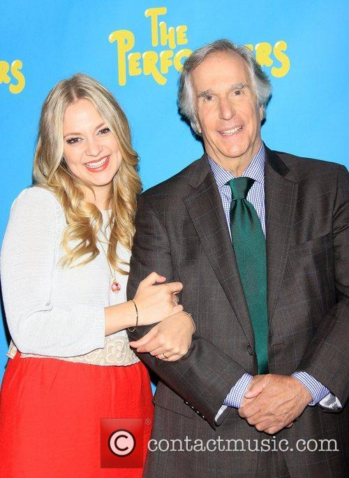 Jenni Barber and Henry Winkler  Meet and...