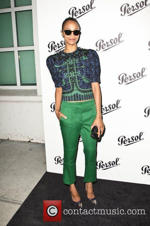 Zoe Saldana Persol Magnificent Obsessions: 30 Stories of...