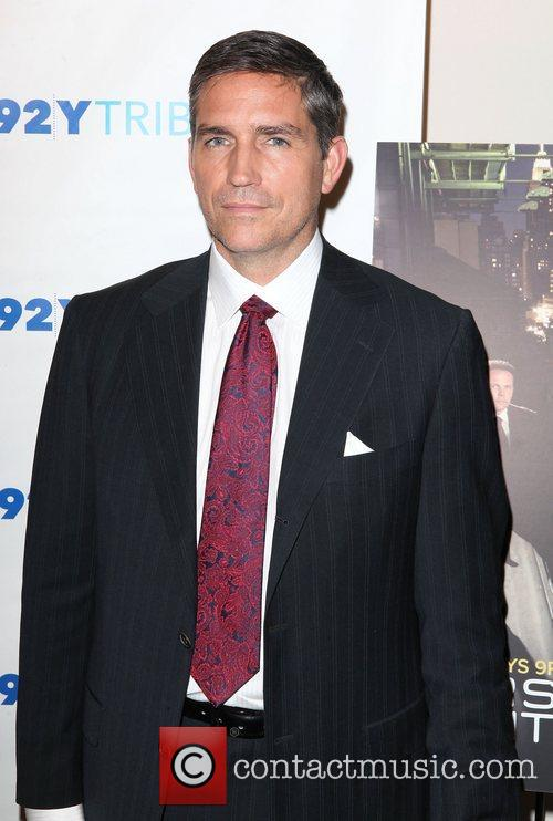 At the screening of  'Person of Interest'...