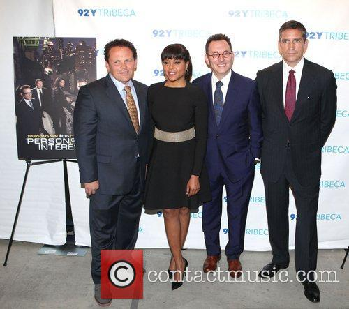 The Cast, Person, Interest, L-r, Kevin Chapman, Taraji P. Henson, Michael Emerson and Jim Caviezel 2