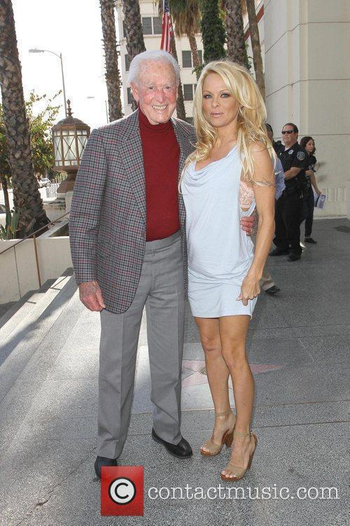 Bob Barker and Pamela Anderson 1