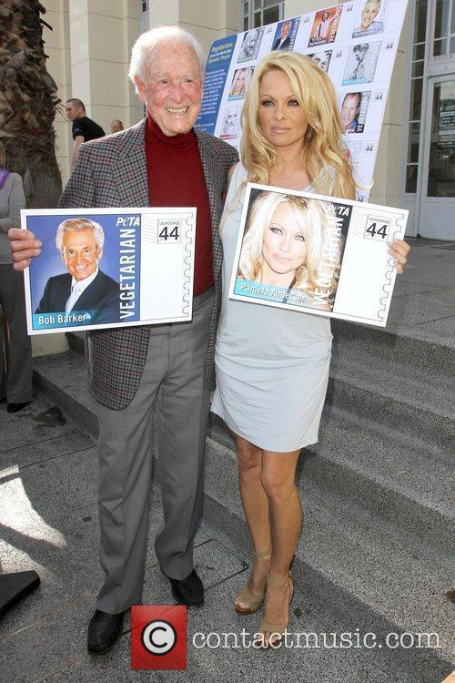 Bob Barker and Pamela Anderson 2
