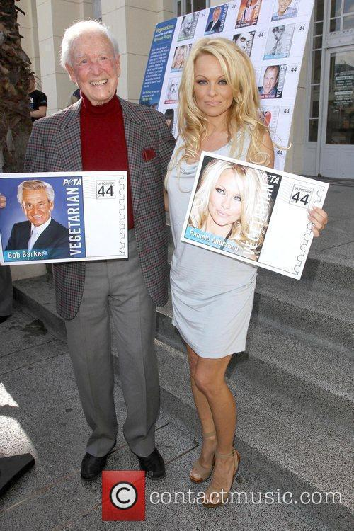 Bob Barker and Pamela Anderson 11