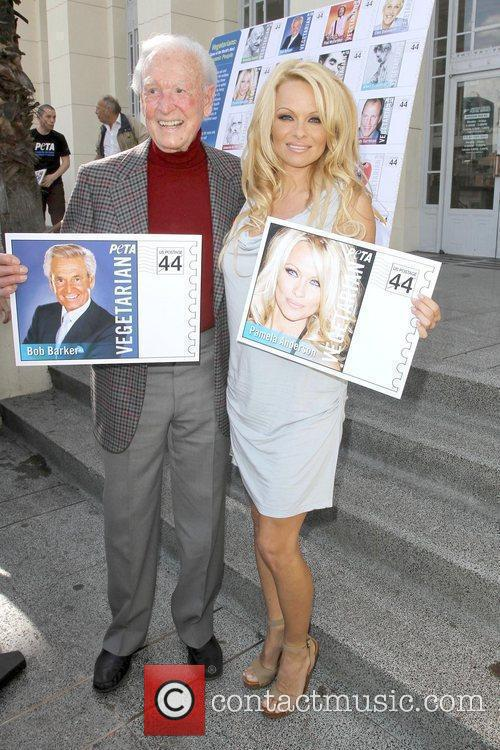 Bob Barker and Pamela Anderson 4