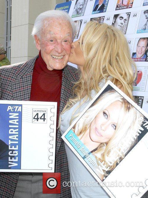 Bob Barker and Pamela Anderson 6