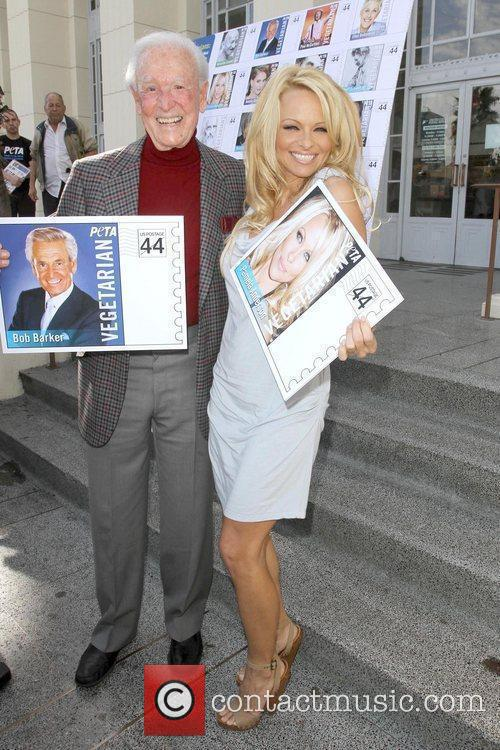 Bob Barker and Pamela Anderson 3