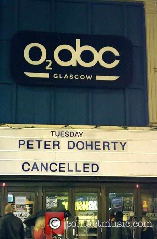 Pete Doherty's first solo headline gig at the...