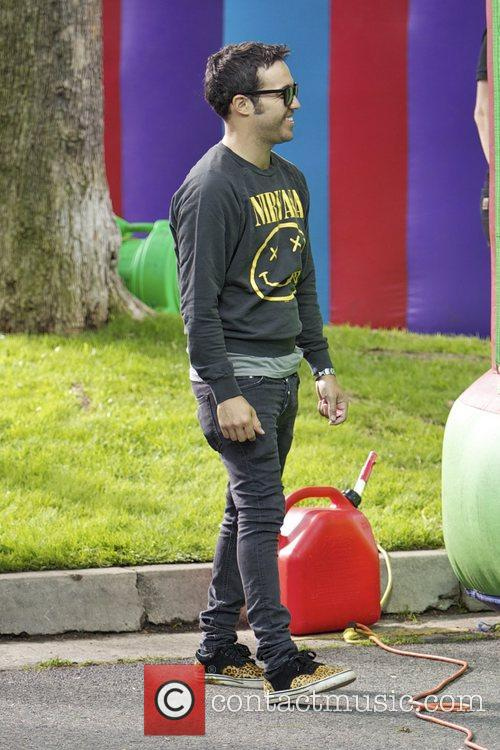 Pete Wentz and Bronx Wentz 8