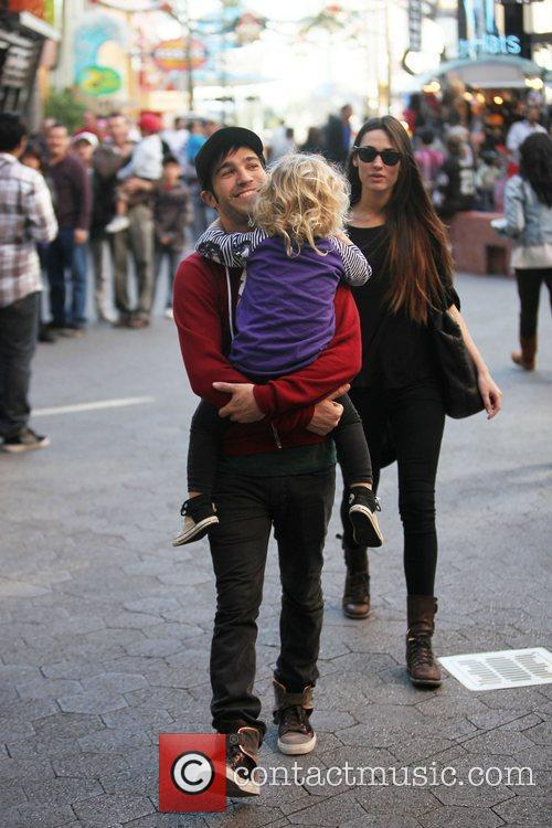 Pete Wentz and his new girlfriend model Meagan...