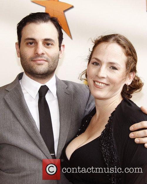 Arian Moayed and Krissy Shields  Broadway opening...