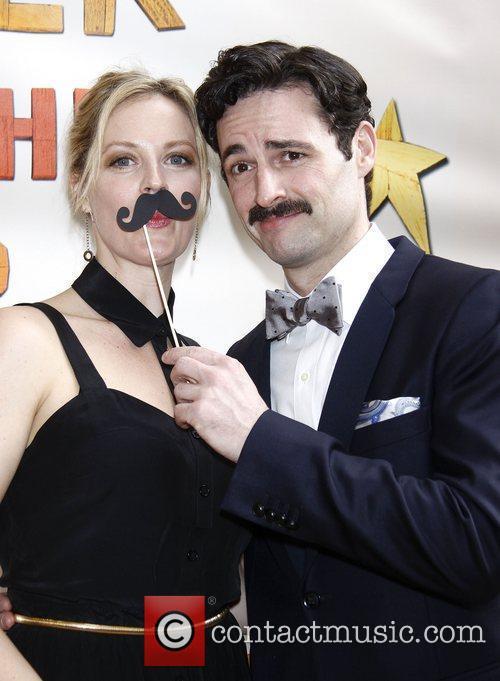 Elizabeth Stanley and Max von Essen  Broadway...
