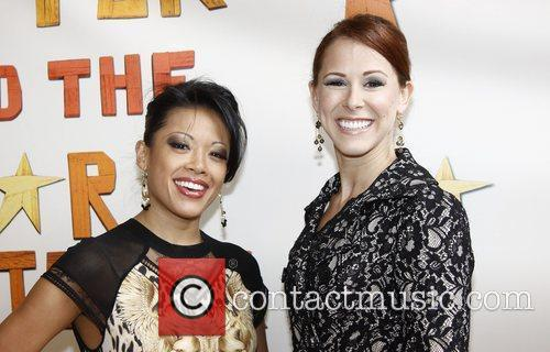 J. Elaine Marcos and Heather Parcells  Broadway...