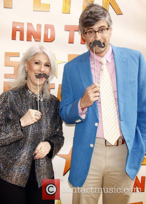 Jamie deRoy and Mo Rocca  Broadway opening...