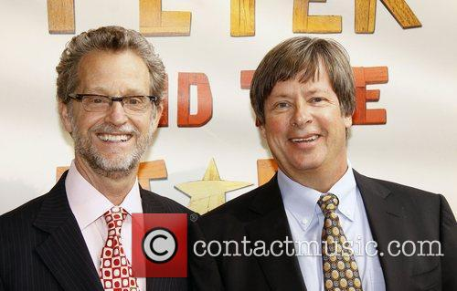 Ridley Pearson and Dave Barry  Broadway opening...