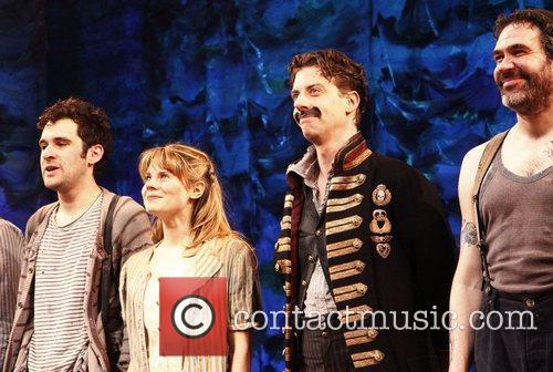 Broadway opening night of 'Peter and the Starcatcher'...