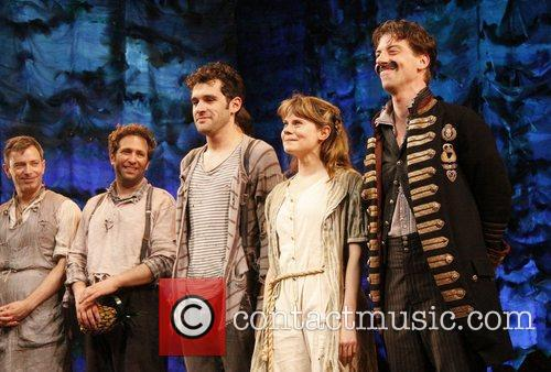 Christian Borle's last performance as Black Stache in...