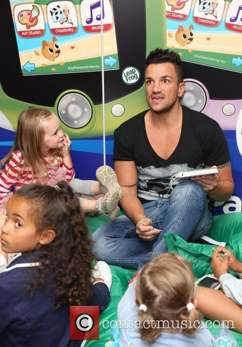 Peter Andre and Amanda Lamb 2
