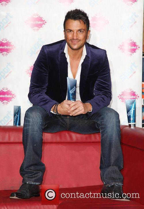 Peter Andre launches a new Sport Tan in...