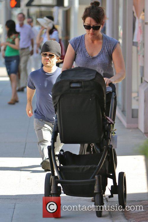 Seen out and about in Beverly Hills with...