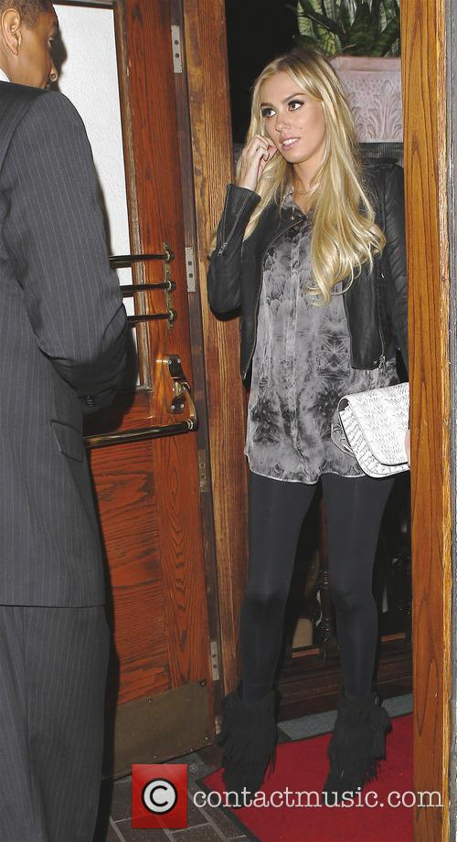 Petra Ecclestone leaving Madeo Restaurant  Featuring: Petra...