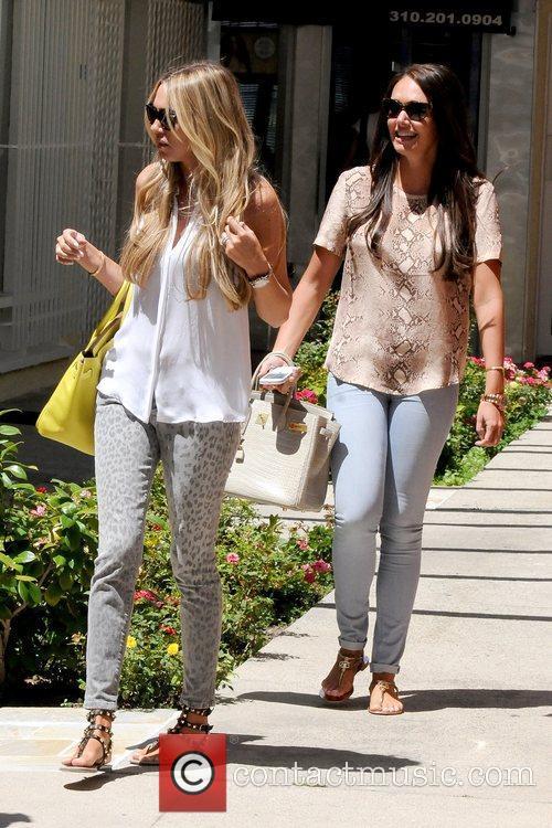 Petra Ecclestone and Tamara Ecclestone 6