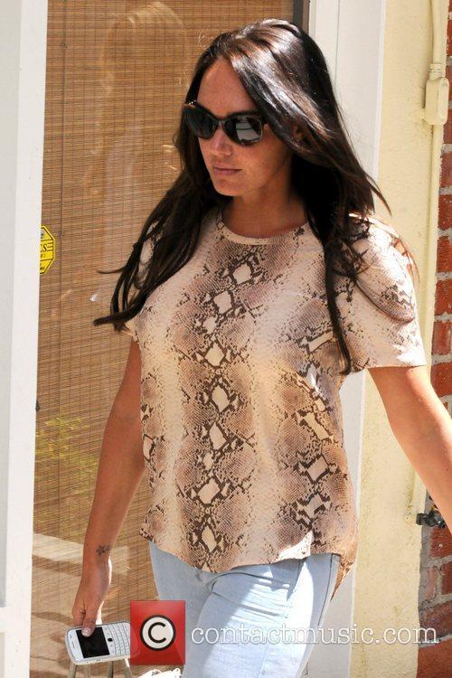 Tamara Ecclestone British socialite shopping in Beverly Hills...