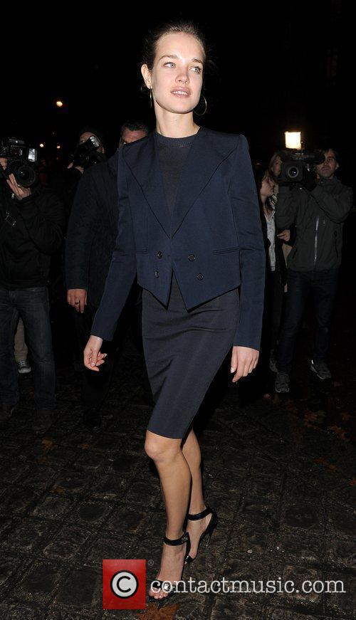 Natalia Vodianova Paris Fashion Week Autumn/Winter 2012 -...
