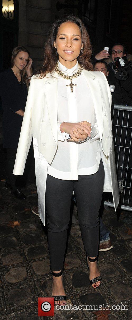alicia keys paris fashion week autumnwinter 2012 3764161