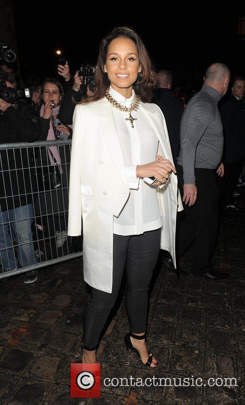alicia keys paris fashion week autumnwinter 2012 3764168