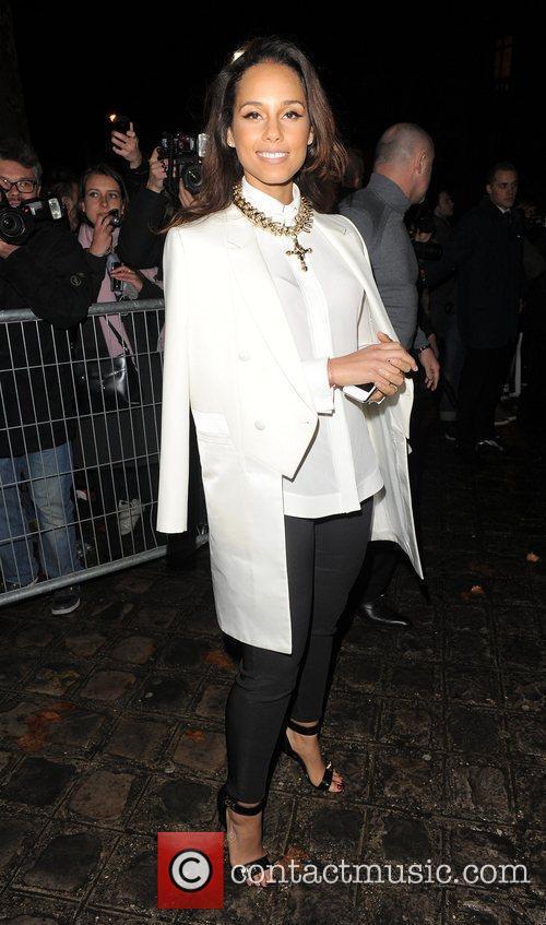 alicia keys paris fashion week autumnwinter 2012 3764173