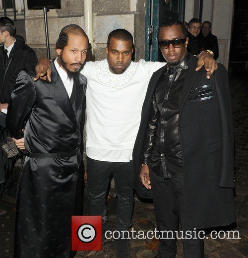 Kanye West and Sean Combs 11