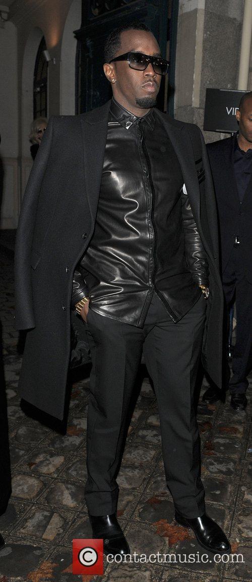 Sean Combs aka P. Diddy  Paris Fashion...