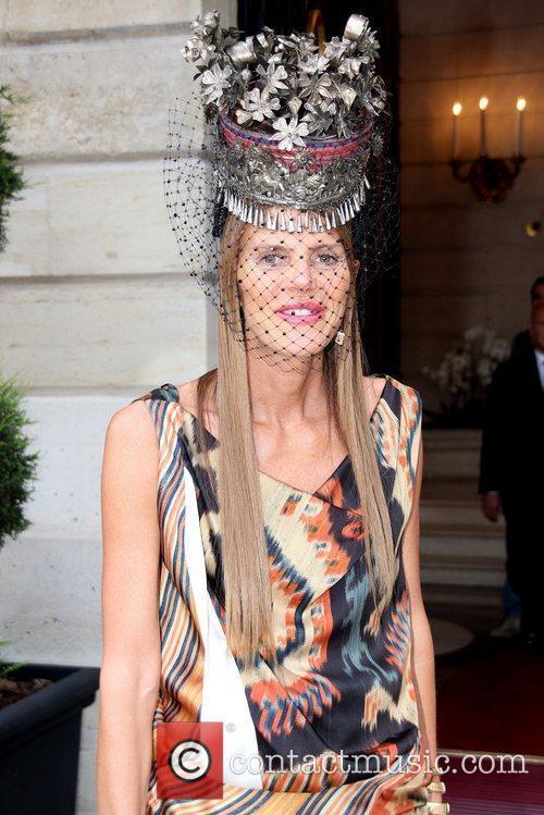 Celebrities depart The Ritz Hotel to attend Paris...