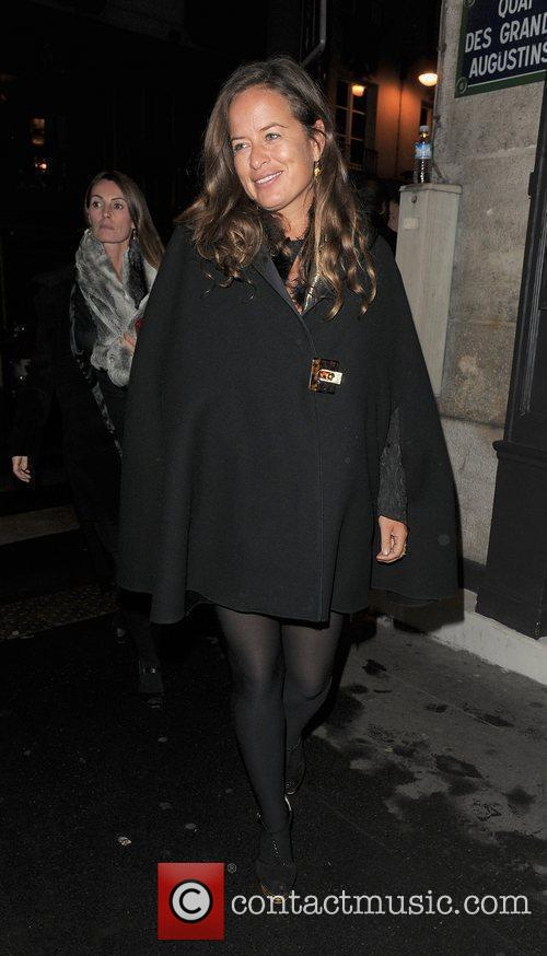 Jade Jagger out and about in Paris