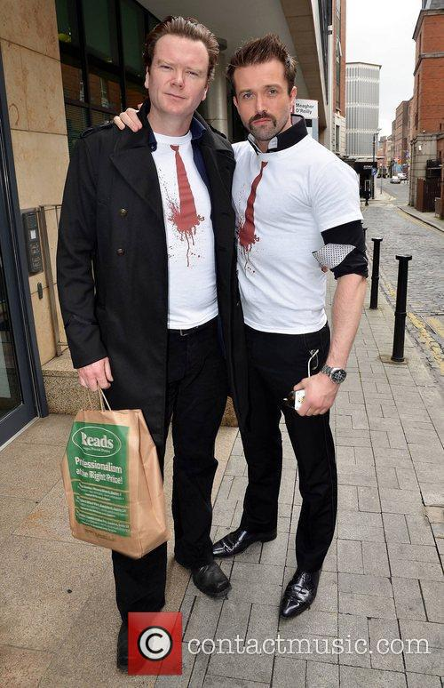 Emmett J. Scanlan and Terry McMahon at the...