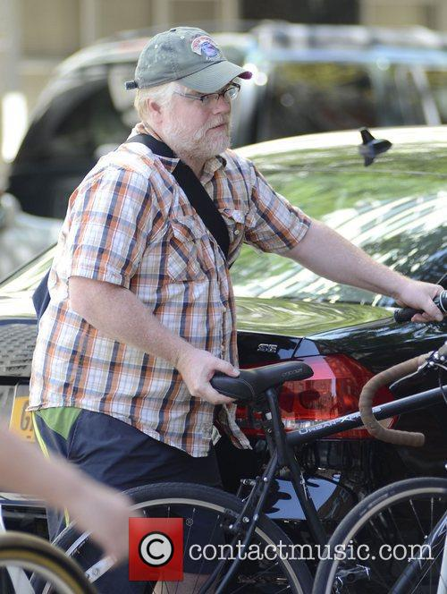 philip seymour hoffman out and about on 4051335
